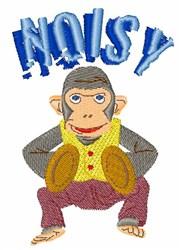 Noisy Monkey embroidery design