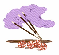 Incense & Peppermints embroidery design