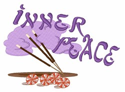 Inner Peace embroidery design