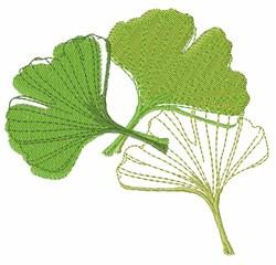 Ginkgo Leaf embroidery design