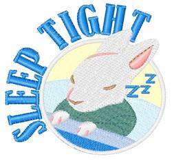 Sleep Tight embroidery design