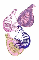 Figs embroidery design
