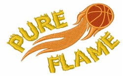 Pure Flame embroidery design