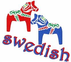 Swedish embroidery design