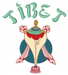 Tibet embroidery design