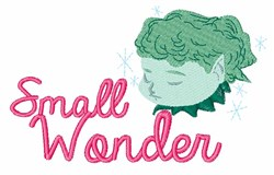 Small Wonder embroidery design