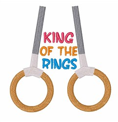 King of the Rings embroidery design