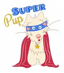 Super Pup embroidery design
