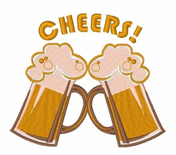 Cheers! embroidery design