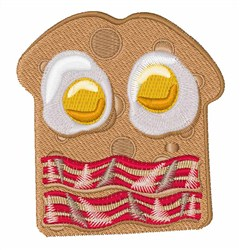 Breakfast Sandwich embroidery design
