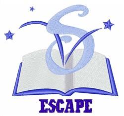 Escape embroidery design