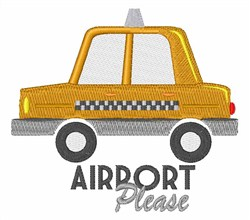 Airport Please embroidery design