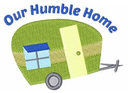Humble Home embroidery design