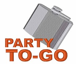 Party To Go embroidery design