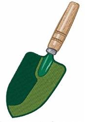 Garden Shovel embroidery design