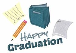 Happy Graduation embroidery design