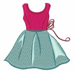 Pretty Little Dress embroidery design