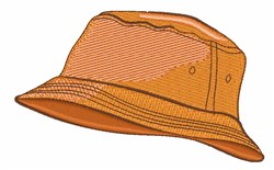 Realistic Bucket Hat embroidery design