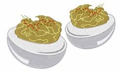 Deviled Eggs embroidery design