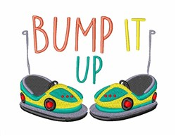 Bump It Up embroidery design