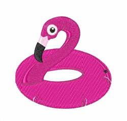 Flamingo Float embroidery design