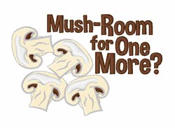 Mush-room For More embroidery design