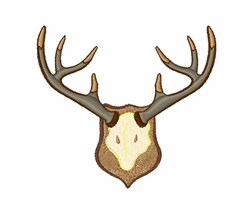 Antlers embroidery design
