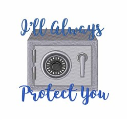 Protect You embroidery design