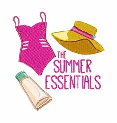 Summer Essentials embroidery design