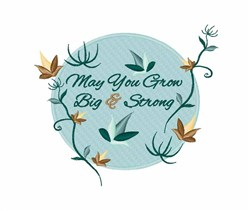 Big & Strong embroidery design