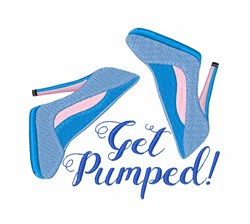 Get Pumped! embroidery design