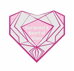 Heart Of Glass embroidery design
