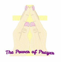 Power Of Prayer embroidery design