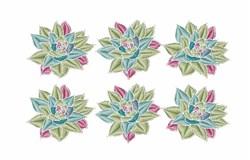 Succulent Plants embroidery design