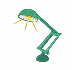 Desk Lamp embroidery design