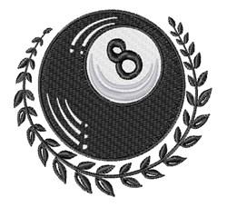 Magic 8 Ball Tattoo embroidery design