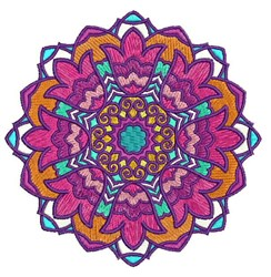 Mandala Pattern embroidery design