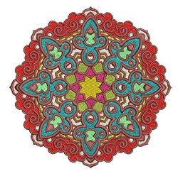 Mandala Decoration embroidery design