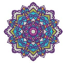 Mandala Star embroidery design