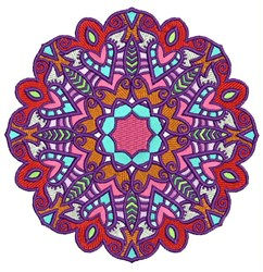 Mandala Circle embroidery design