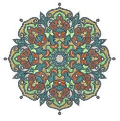 Mandala Decoration embroidery design