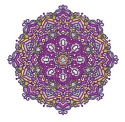 Fancy Mandala Design embroidery design