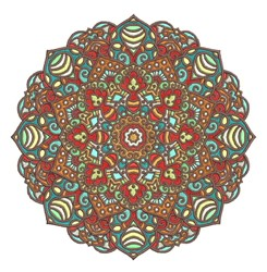 Mandala embroidery design