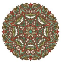 Fancy Mandala embroidery design