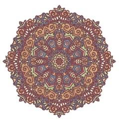 Octagon Mandala embroidery design
