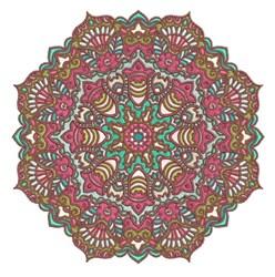 Mandala Pattern embroidery design