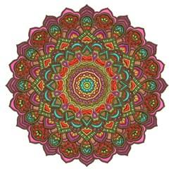 Spikey Mandala embroidery design