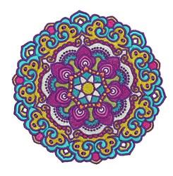 Multi Color Mandala embroidery design