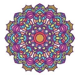 Mandala Shape embroidery design