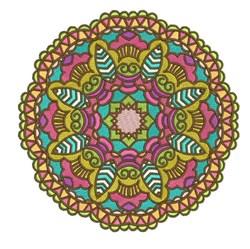 Mandala Roundell embroidery design
